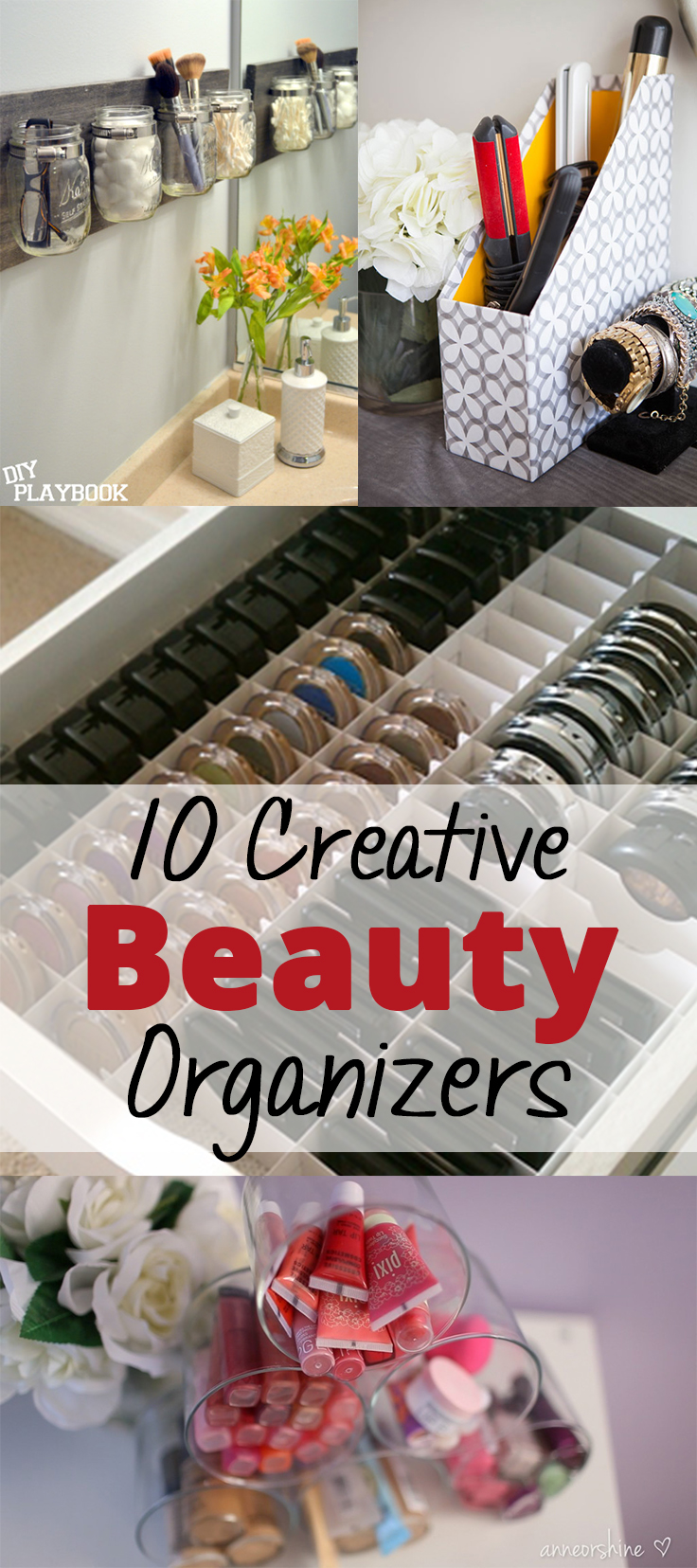 10 Creative Beauty Organizers