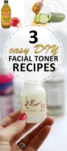 3 Easy DIY Facial Toner Recipes