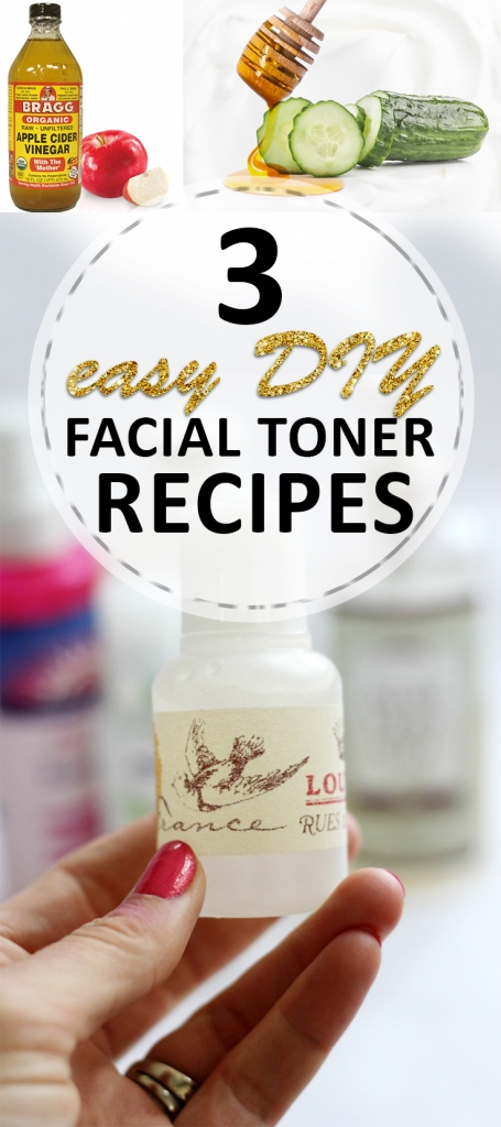 3 Easy DIY Facial Toner Recipes