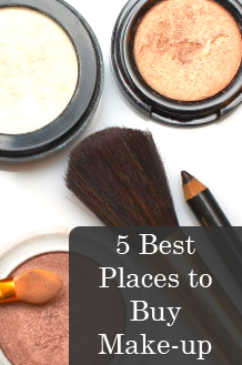 5 Best Places to Buy Make-up