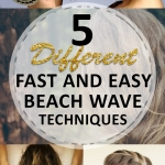 5 Different Fast and Easy Beach Wave Techniques
