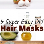5 Super Easy DIY Hair Masks