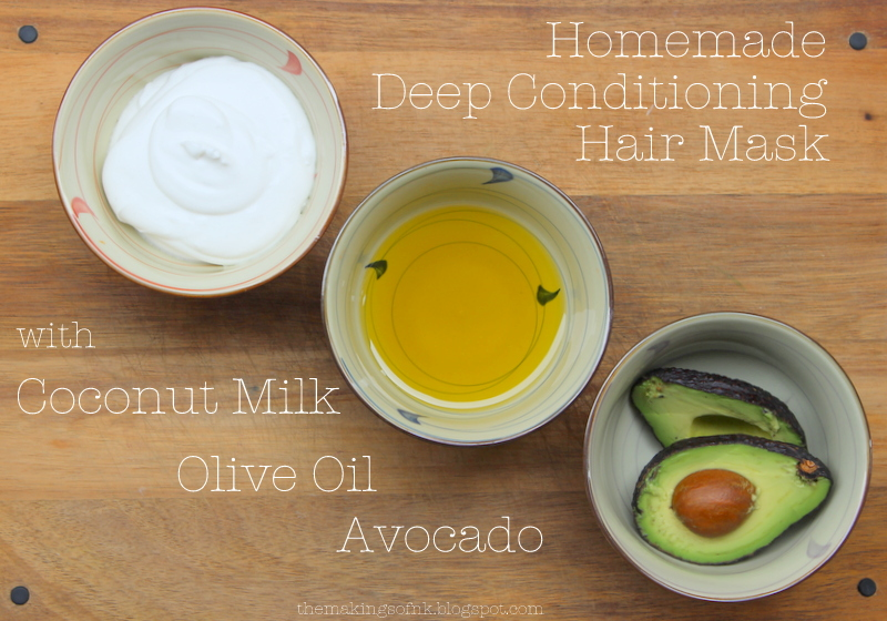 5 Super Easy DIY Hair Masks3
