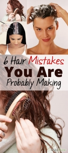 6 Hair Mistakes You Are Probably Making