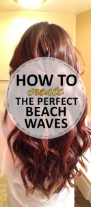 How to Create the Perfect Beach Waves