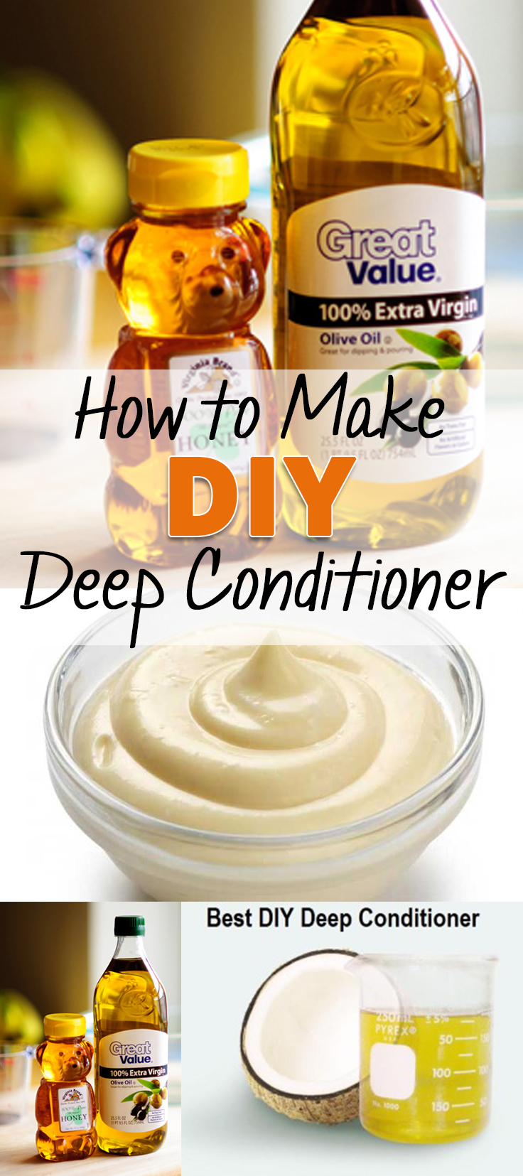 How to Make DIY Deep Conditioner