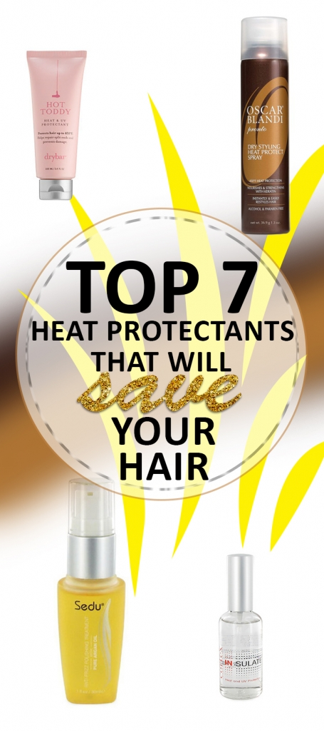 Top 7 Heat Protectants That Will Save Your Hair