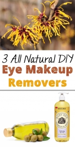 3 All Natural DIY Eye Makeup Removers