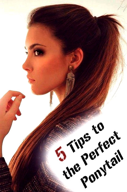 5 Tips to the Perfect Ponytail