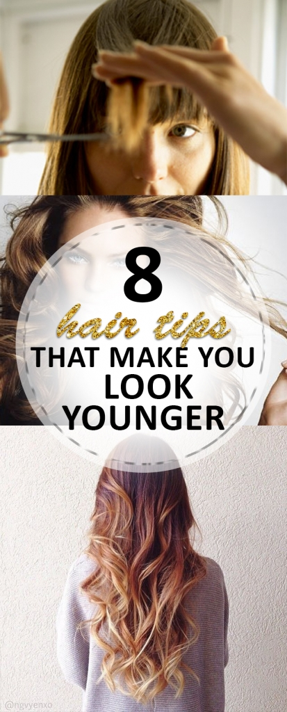 8 Hair Tips that Make You Look Younger