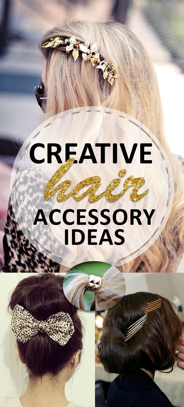 Creative Hair Accessory Ideas