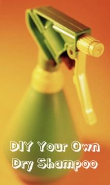 How to Make DIY Dry Shampoo