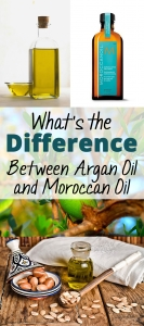 What's the Diffrence Between Argan Oil and Moroccan Oil