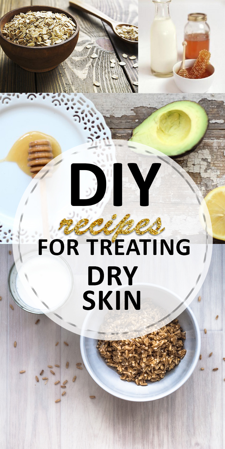 DIY Recipes for Treating Dry Skin