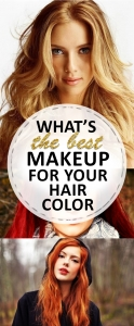 What's the Best Makeup for Your Hair Color