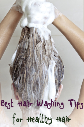 Best Tips for Washing Your Hair