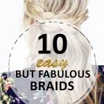 10 Easy but Fabulous Braids