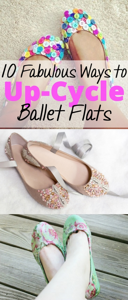 10 Fabulous Ways to Up-Cycle Ballet Flats