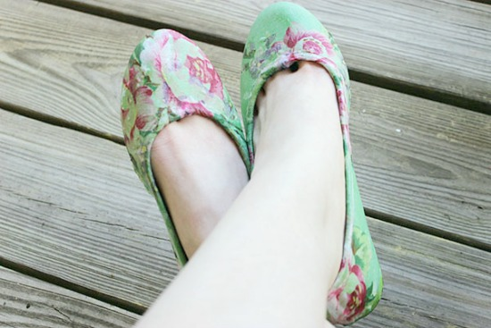 7 Fabulous Ways to Up-Cycle Ballet Flats
