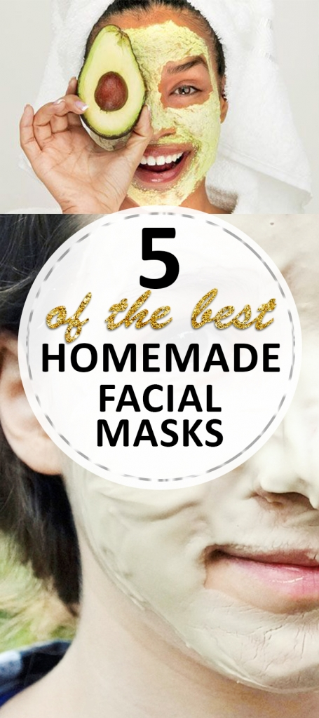 5 of the BEST Homemade Facial Masks