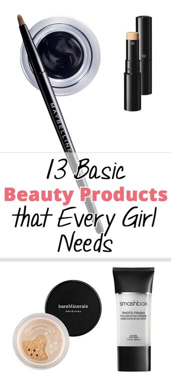 13 Basic Beauty Products that Every Girl Needs