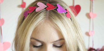 headband for Valentine's Day