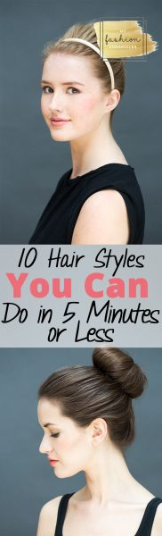Five Minute Hairstyles, Hairstyles, Easy Hair, Easy Hairstyling Tips, Quick Hair, How to Quickly Fix Your Hair, Quick Hair Fixes, Five Minute Makeup, Quick Ways to Get Ready, Popular Pin.