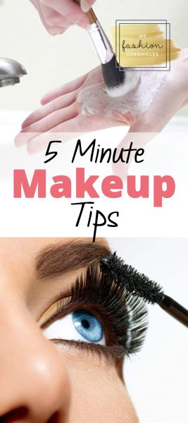 Quick Makeup, Easy Makeup Tips, Quick Makeup Tips, Five Minute Makeup Tips, Fast Makeup Tips, Beauty, Makeup, Beauty Hacks,Popular Pin