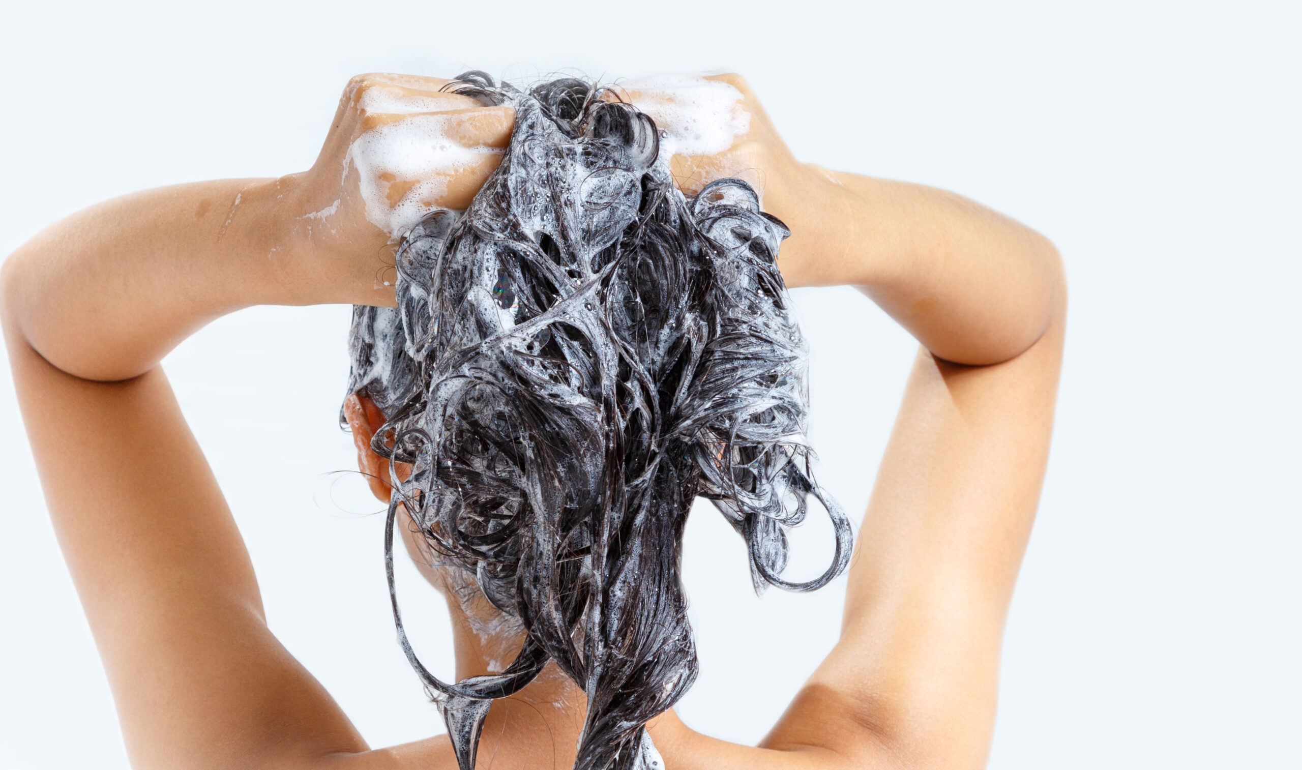 The right shampoo can help make thin hair look thick!